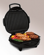 Hamilton Beach 25326 Indoor Grill with Removable Grids - click to enlarge