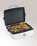 Hamilton Beach 25327 Indoor Grill with Removable Grids - click to enlarge