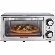 Hamilton Beach 31138 4-Slice Toaster Oven/Broiler - click to enlarge