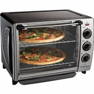 Hamilton Beach 31199R Countertop Convection Oven w/ Rotisserie - click to enlarge