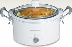 Hamilton Beach 33144 Stay or Go 4 Quart Slow Cooker - click to enlarge