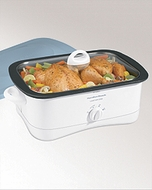 Hamilton Beach 33260 9 x 13 inch 6 Quart Slow Cooker - click to enlarge