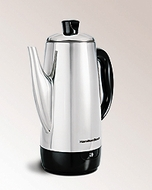 Hamilton Beach 40616 Stainless Percolator - click to enlarge