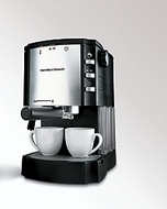 Hamilton Beach 40729 Cappuccino Plus Espresso Maker - click to enlarge