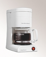 Hamilton Beach 48131 5 Cup Aroma Express Coffee Maker, White - click to enlarge