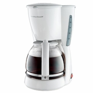 Hamilton Beach 49315 12 Cup Coffee Maker White - click to enlarge