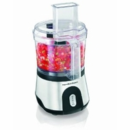 Hamilton Beach 70760 Food Processor 10c Stainless Steel - click to enlarge