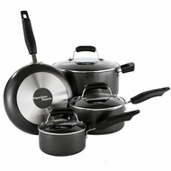 Hamilton Beach 92012 7 Piece Black Cookware Set - click to enlarge