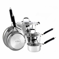 Hamilton Beach 94311 8 Piece Signature Cookware Set - click to enlarge