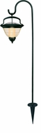 Brinkmann 822-0416-2 Hampton Hanging Solar Accent Light Set - Set of 2 Lights and Stakes - click to enlarge