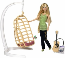 Hannah Montana Song Writing Swing Playset with Doll - click to enlarge