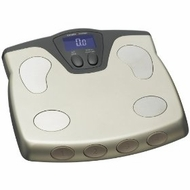 Health o Meter BFM588DQ-81 Body Fat and Hydration Percentage Fitness Scale, Champagne - click to enlarge