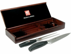 Henckels 30146-200 Five Star Carving Knife Set w/ Storage Box - click to enlarge