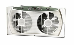 Holmes HAWF3095-U Dual Blade Twin Window Fan with Accutemp Plus - click to enlarge