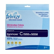 Home Care  Kenmore C Premium Allergen Canister Vacuum Cleaner Bags - click to enlarge