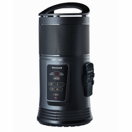Honeywell Ceramic Surround Heat Whole Room Heater w/ Remote Control - Black, HZ-445R - click to enlarge