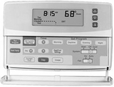 Honeywell CT3611 7 Day  Programmable Heat Pump Thermostat - click to enlarge