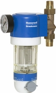 Honeywell F74C Self-Rinsing Sediment Water Filter - click to enlarge