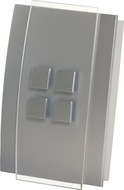 Honeywell RCWL3501A Decore Wireless Door Chime and Push Button - click to enlarge