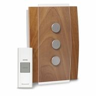 Honeywell RCWL3503A Decore Wireless Door Chime and Push Button - click to enlarge