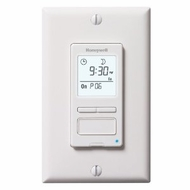 Honeywell RPLS540A Econoswitch Programmable Timer Switch, White - click to enlarge