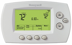 Honeywell RT8580 Wi-Fi Programmable Touchscreen Smart Thermostat - click to enlarge