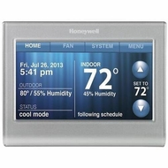 Honeywell RTH9580 Wi-Fi Touchscreen Smart Thermostat - click to enlarge