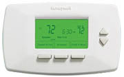Honeywell Vision 7500 Conventional 7-Day Programmable Thermostat