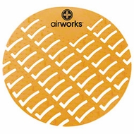 Hospeco Airworks AWUS231-BX Yellow Citrus Grove Urinal Screen - click to enlarge