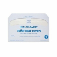 Hospeco HG-5000 Health Gards Toilet Seat Cover (20 Packs of 250) - click to enlarge