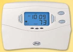 Hunter 44428 7 Day Programmable Heat Pump Thermostat - click to enlarge