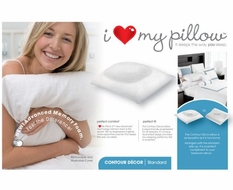 I Love My Pillow- Contour Latex/ Foam Pillow King Size - click to enlarge