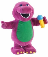Jakks Sing Along With Barney - click to enlarge