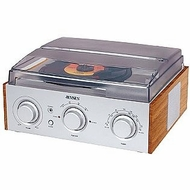 Jensen 3-Speed Stereo Turntable with AM/FM Stereo Radio - click to enlarge