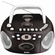 Jensen CD540 Portable Stereo Compact Disc Cassette Recorder with AM/FM Radio - click to enlarge