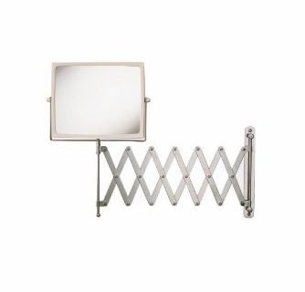Jerdon J2020c 8 Inch Two Sided Swivel Wall Mount Mirror With