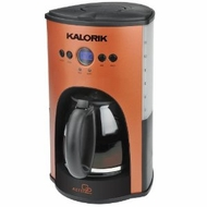 Kalorik CM25282 12-Cup 1000-Watt Programmable Coffeemaker, Aztec Copper - click to enlarge