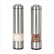Kalorik PPG 26914 Battery Operated Salt and Pepper Grinder Set, Stainless Steel - click to enlarge