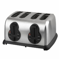 Kalorik TO14244 1450-Watt 4-Slice Toaster, Stainless Steel - click to enlarge