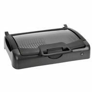 KalorikGR 28215 Indoor/Outdoor Carry Grill w/ Glass Lid - click to enlarge