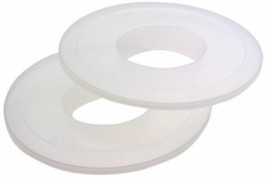 KitchenAid KBC5N Mixer Bowl Covers for 5-Quart Stand Mixer bowls, Set of 2 - click to enlarge