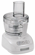 KitchenAid KFP740WH 9-Cup Food Processor, White - click to enlarge