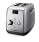 KitchenAid KMT223CU 2-Slice Toaster, Countour Silver