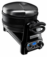 KitchenAid KPWB100OB Pro Line Series Waffle Baker, Onyx Black - click to enlarge