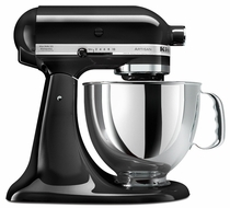 KitchenAid KSM150PS Deluxe Standmixer Kit, Onyx Black - click to enlarge