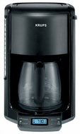 Krups FME2-14 12-Cup Coffee Maker (Black) - click to enlarge