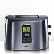 Krups TT6190 Stainless Steel 2 Slice Digital Toaster - click to enlarge