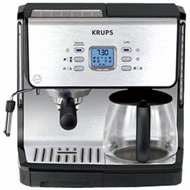 Krups XP2070 Programmable 10-Cup Coffeemaker/15-Bar Pump Espresso Machine - click to enlarge