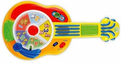 LeapFrog 10241 Learn & Groove Animal Sounds Guitar - click to enlarge