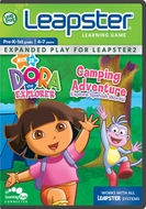 LeapFrog Leapster Game: Dora's Camping Adventure - click to enlarge